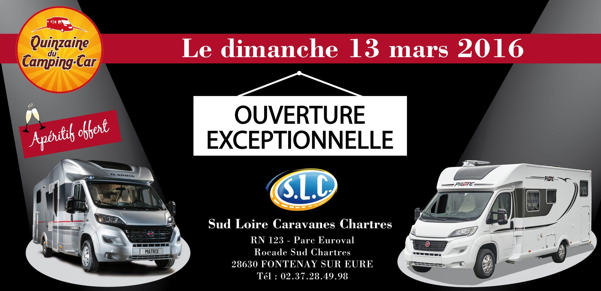 Ouverture exceptionnelle le dimanche 13 mars d 39 slc 28 sud loire caravan - Castorama ouverture exceptionnelle ...