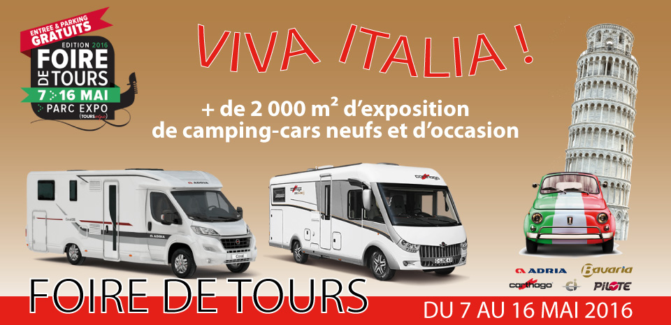 Foire de Tours - Sud Loire Caravanes