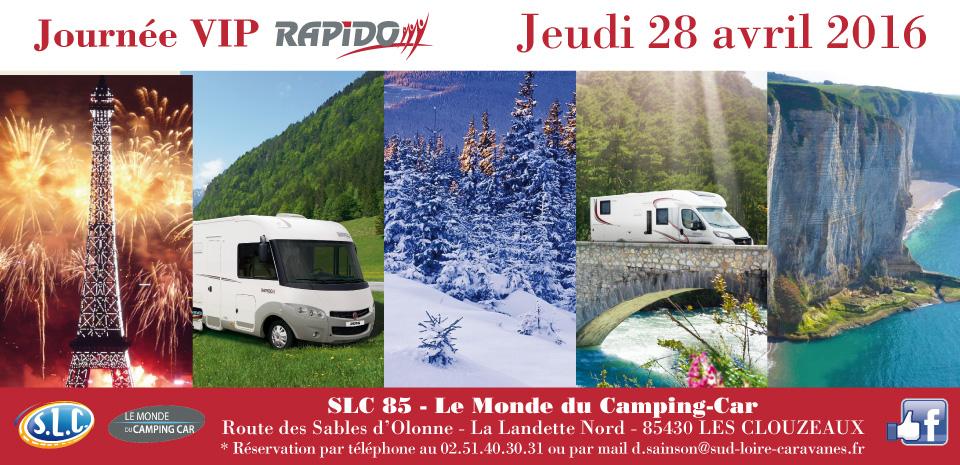 Journée VIP Rapido SLC 85