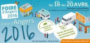Foire d'Angers Camping-Car Sud Loire Caravanes
